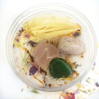 Crystal intentions Botanical bath salts